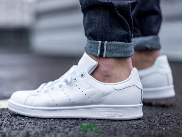 手快有,adidas Originals 阿迪达斯 Stan Smith 男士复古小白鞋 35.46 免费直邮