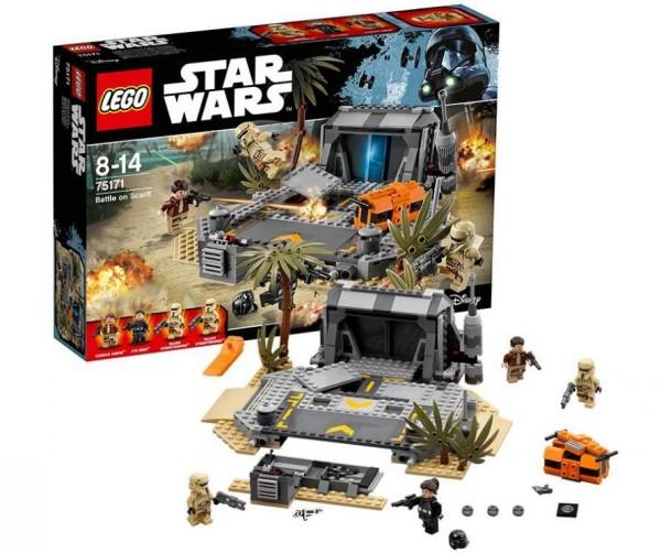 2017新款!LEGO 乐高 星战系列 75171 斯卡利夫战役 39.99刀,到手345元