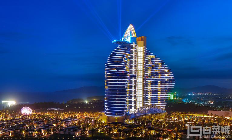 三亚 海棠湾红树林七星度假酒店 至尊海景房 一价全包 含2大1小